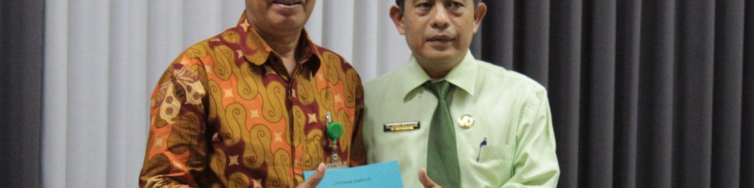 Serah Terima Jabatan Ketua Jurusan RMIK